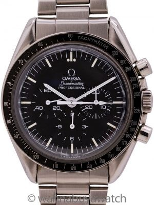 Omega Speedmaster Moonwatch ref 145.022-76 circa 1979