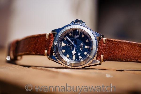 "Tudor ""Snowflake"" Submariner Blue w/ Date ref# 7021/0 circa 1970"