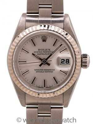 Lady Rolex Datejust ref 69174 circa 1999 Box & Papers