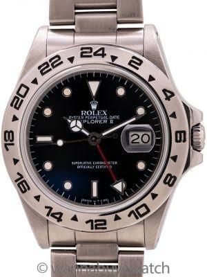 Rolex Explorer II ref 16550 Patina'd Dial circa 1987