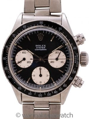 Vintage Rolex Daytona ref 6263 Sigma Dial circa 1982 Papers