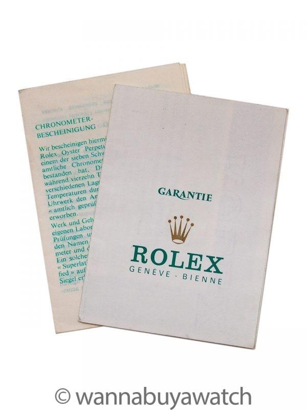 Vintage Rolex Daytona ref 6263 Sigma Dial circa 1982 Papers