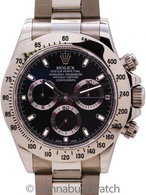 Rolex Daytona ref 116520 V serial # circa 2009 New Style Clasp
