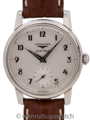 "Longines ""Sport Chief"" calibre 30L circa 1962"