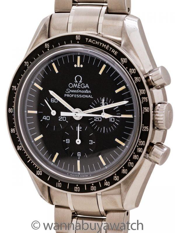 """Omega Speedmaster """"Moonwatch"""" ref 145.0022/345.0022 """"Tritium"""" circa 1996"""