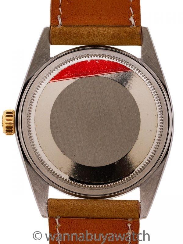Rolex Datejust ref 1601 SS/14K YG Linen Dial circa 1970