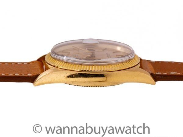Rolex Datejust ref 1601 18K YG Milled Bezel circa 1960