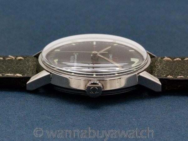 Omega Stainless ref 135.011 Modernist Design circa 1965