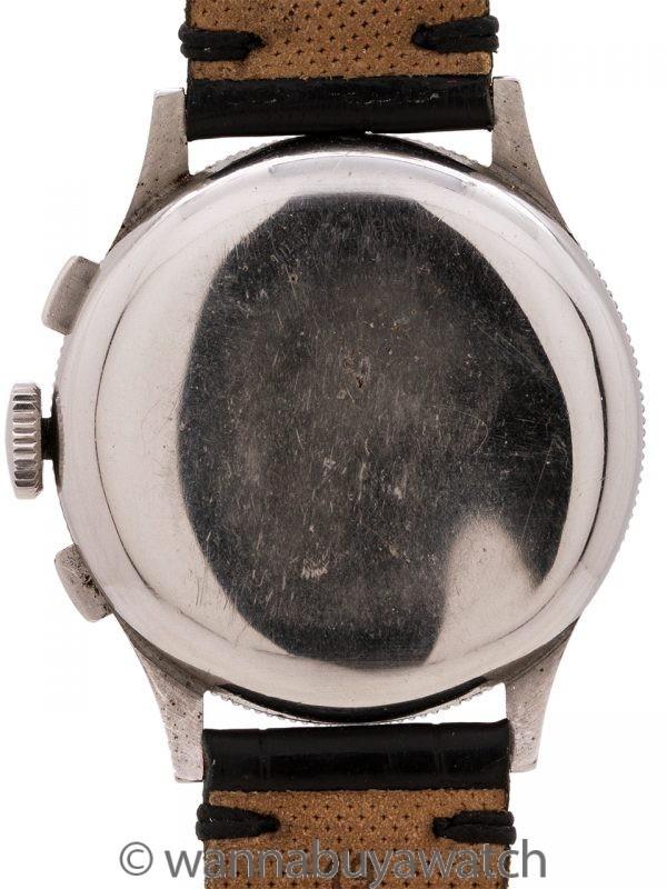 Benrus SS Skychief Chronograph circa 1950