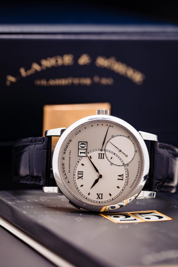 A. Lange & Söhne Grand Lange 1 ref 115.026 Platinum Box & Booklets