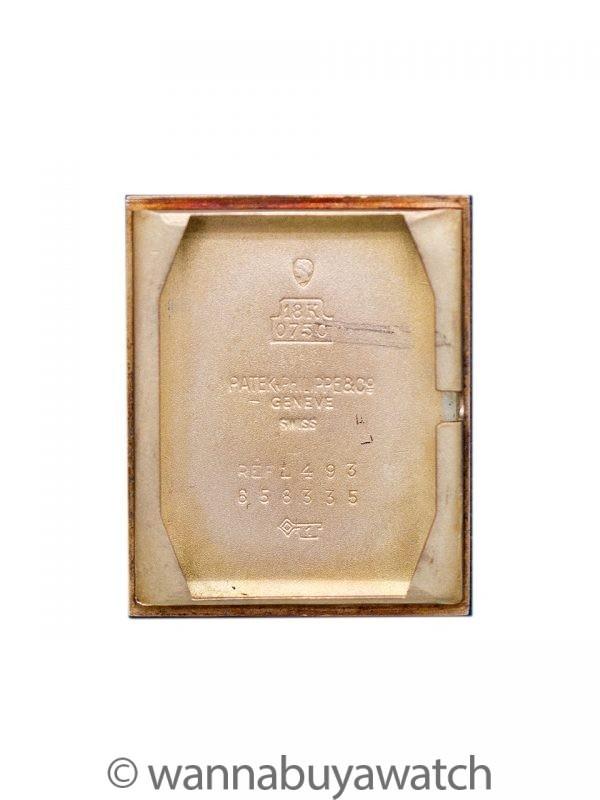 Patek Philippe 18K YG ref 1493 circa 1945 Archive