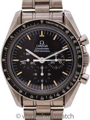 Omega Speedmaster Moon Watch ref 145.002/3950.50 circa 1996 Tritium