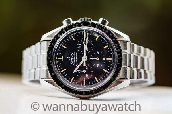Omega Speedmaster Moon Watch ref 145.002/3950.50 circa 1996 Tritium
