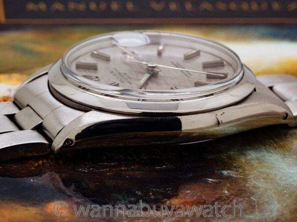 Rolex Oyster Perpetual Date ref 1500 Linen Dial circa 1969