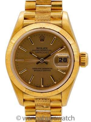 Rolex Lady Bark President ref 69278 circa 1995 Papers