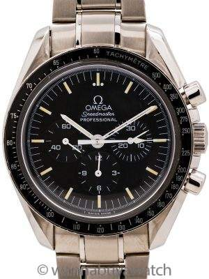 Omega Speedmaster Man on the Moon ref 3572.50 Display Back Tritium circa 1997