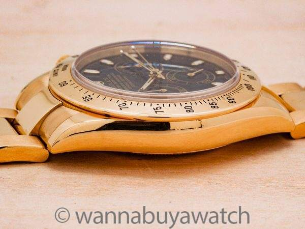 Rolex Daytona ref 116528 18K YG circa 2004 Box & Papers