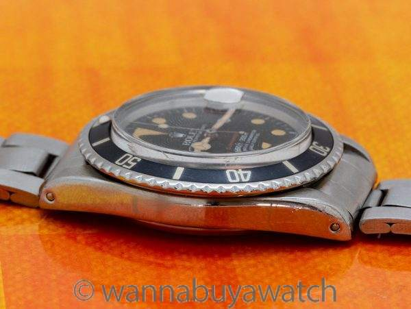 "Rolex ref 1680 ""Red"" Submariner ""Pumpkin"" circa 1972"