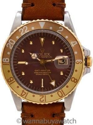 Rolex GMT ref 1675 SS/14K YG circa 1978