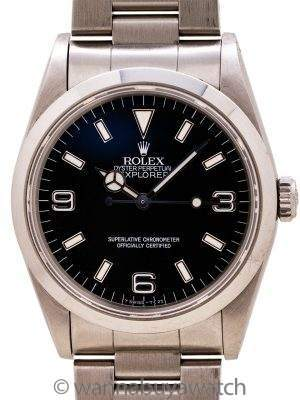 Rolex Explorer 1 ref 14270 Tritium circa 1994 Box & Papers