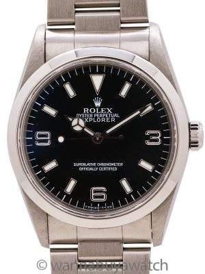 "Rolex Explorer 1 ref# 14270 ""Tuminova"" circa 1997"