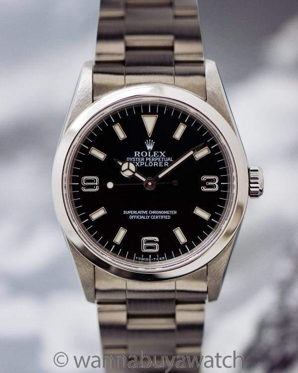 "Rolex Explorer 1 ref# 14270 ""Tuminova"" circa 1998"