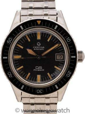 Certina DS PH200M  Diver's circa 1967