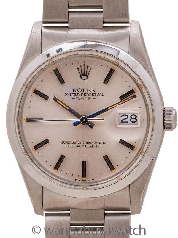 """Rolex Oyster Perpetual Date ref 15000 circa 1982 """" Quick Set"""""""