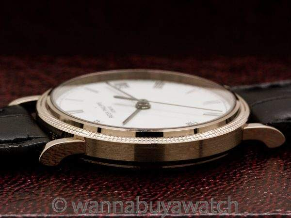 Patek Philippe Calatrava ref 3802G Automatic 18K WG circa 2005 Box & Papers