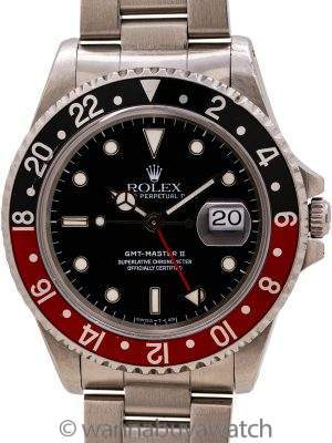 "Rolex GMT II ref 16710 ""Coke"" Tritium circa 1991"