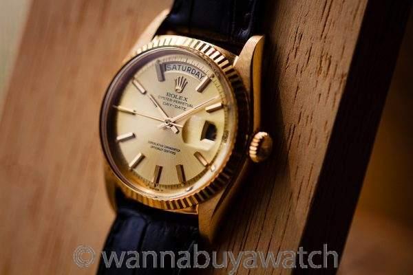 Rolex 18K YG Day Date ref# 1803 circa 1965