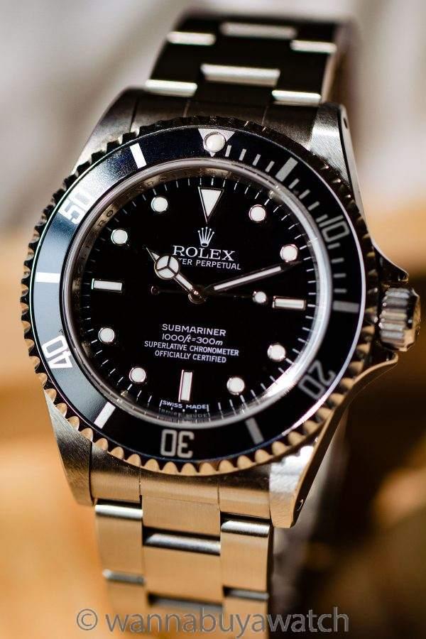 Rolex Submariner ref 14060M 4 Lines OCC circa 2007