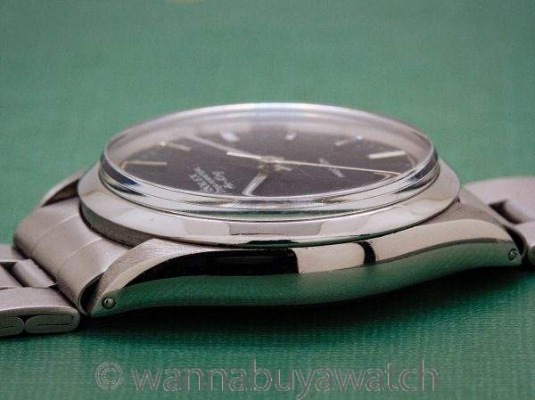 Rolex SS Oyster Perpetual Airking ref 5500 circa 1977
