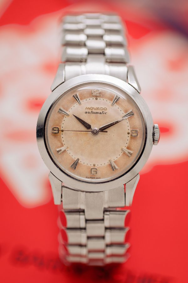 Movado Stainless Steel Automatic circa 1950's