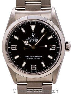 "Rolex Explorer 1 ref# 14270 ""SWISS"" Only circa 1998"