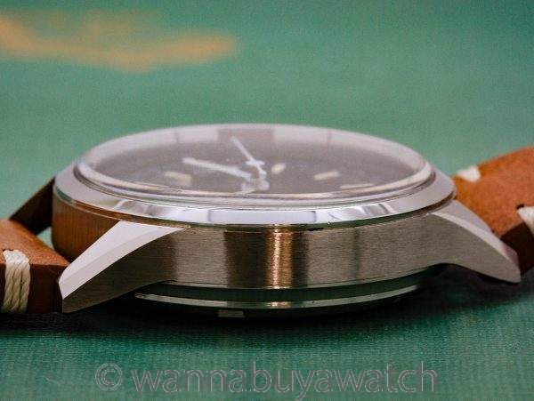 Gallet Stainless Steel Military Style Chronograph circa 1960's