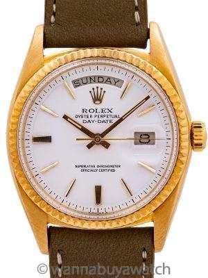 Rolex 18K YG Day Date ref# 1803 circa 1970