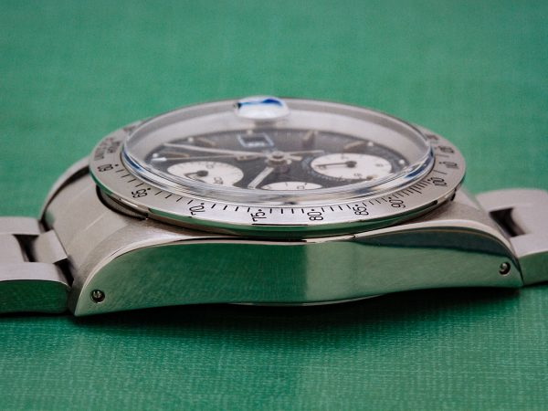 """Tudor Oyster Date ref # 79180 """"Big Block"""" Chronograph with Papers"""
