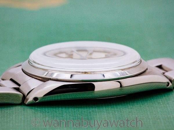 "Rolex SS Oyster Precision ref# 6426 ""Snoopy"" circa 1970"