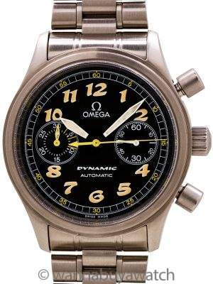 Omega Dynamic SS circa 1999 with Warranty Card