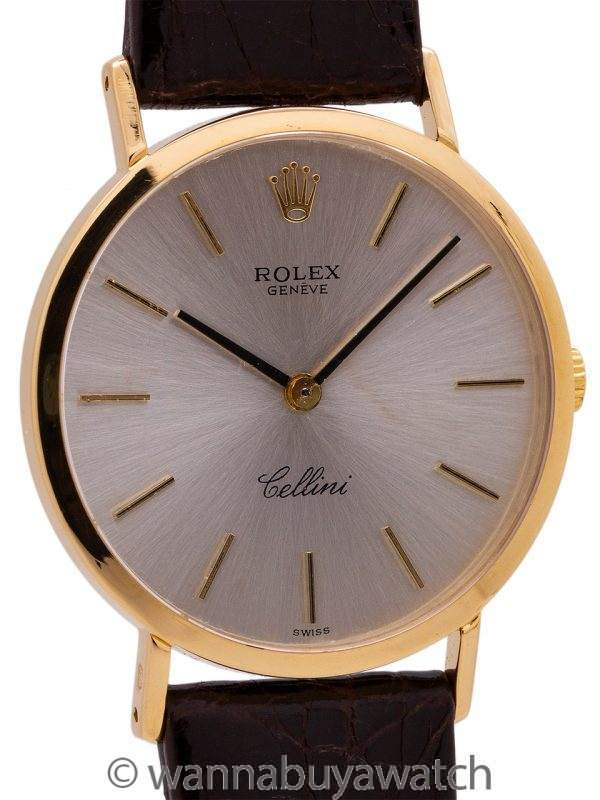 Rolex Cellini 18K YG circa 1970