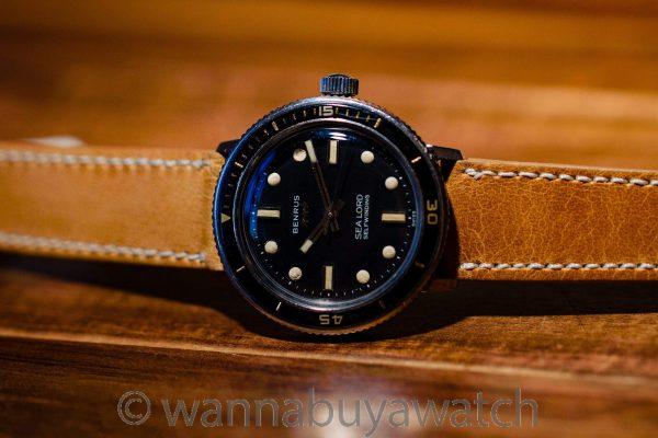 Benrus Sea Lord Diver's ref 7092 circa 1960's