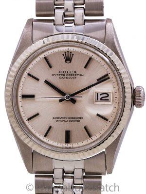 Rolex Datejust ref 1601 SS/14K WG Door Stop Dial circa 1970