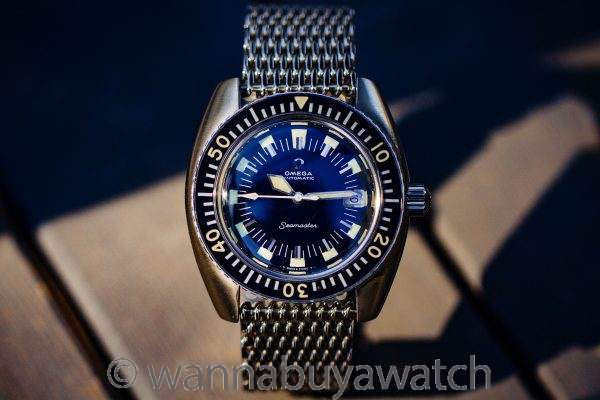 Omega Seamaster 120 Deep Blue Diver's ref 166.073 circa 1969