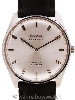 "Bulova ""Ambassador"" SS Automatic circa 1960's"