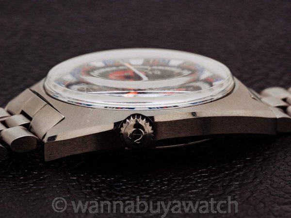 Omega Seamaster ref 145.019-69 Roulette Wheel Soccer Timer circa 1970