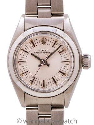 "Lady Rolex Oyster Perpetual ref 6718 ""radial dial"" circa 1977"