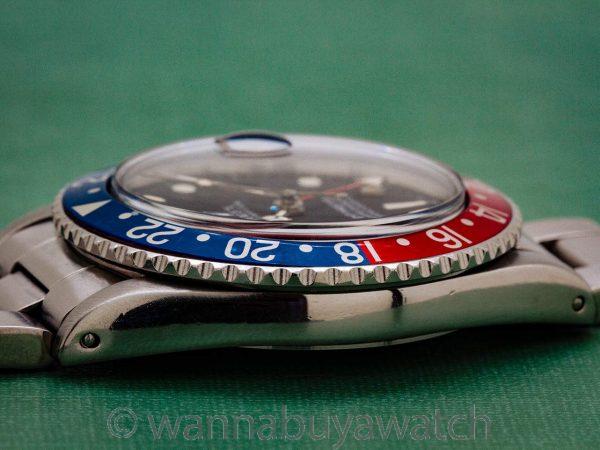 Rolex GMT ref 16750 Transitional Model circa 1982
