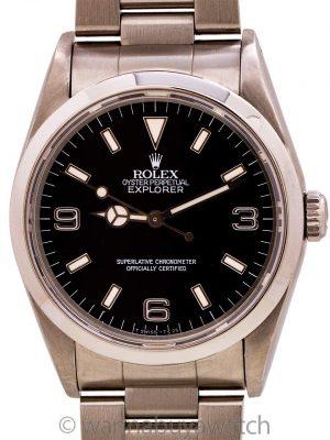 Rolex Explorer 1 ref 14270 Tritium circa 1991
