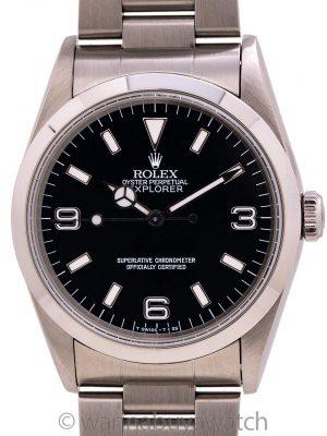 Rolex Explorer 1 ref 14270 Stainless Steel circa 1996